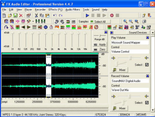Fx Audio Editor Series 4